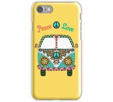 Hippie Vintage Van iPhone Case/Skin