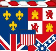 Alabama coat of arms Sticker