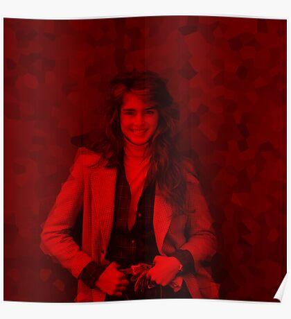 Brooke Shields - Celebrity (Square) Poster