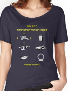 Sci-Fi Transportation Women's Relaxed Fit T-Shirt