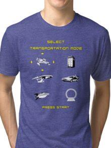 Sci-Fi Transportation Tri-blend T-Shirt