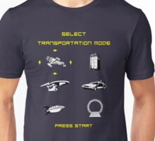 Sci-Fi Transportation Unisex T-Shirt