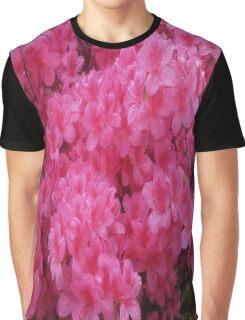 Bright Pink Springtime Blossoms Graphic T-Shirt
