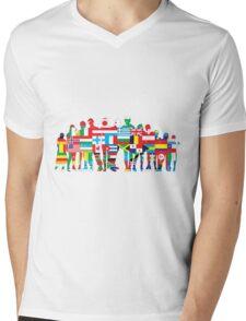 we are the world Mens V-Neck T-Shirt
