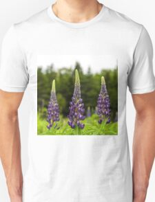 Trio of Lupins T-Shirt
