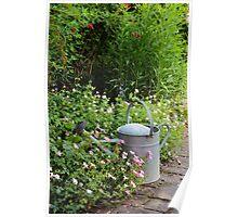Gardener's scene. Poster