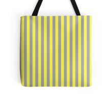 Stripes Yellow Beige Tote Bag