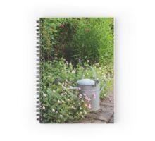 Gardener's scene. Spiral Notebook