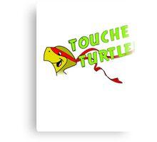 Touche Turtle - The Original TNMT! Canvas Print