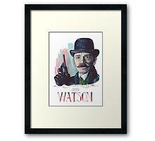 John Watson: Sherlock BBC Framed Print