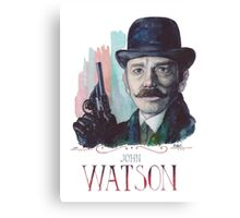 John Watson: Sherlock BBC Canvas Print