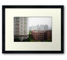 9th Floor Framed Print