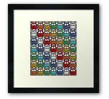 Monster Hunter Potion Rainbow Framed Print