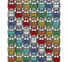 Monster Hunter Potion Rainbow Photographic Print