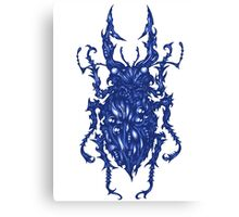 Biomech Beetle Canvas Print