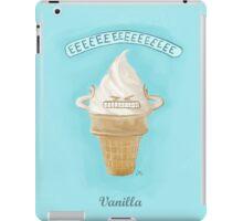 I Scream: Vanilla iPad Case/Skin