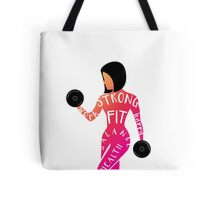 FIT CHICK VERSION 2 Tote Bag