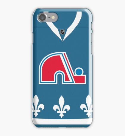 Quebec Jersey iPhone Case/Skin