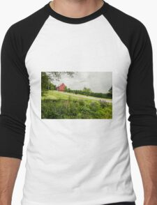 Lupins in the ditch Men's Baseball ¾ T-Shirt