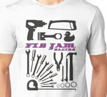 fig jam tools black Unisex T-Shirt