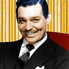 Handsome Clark Gable Portrait by jeastphoto