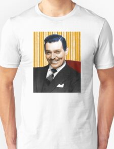 Handsome Clark Gable Portrait Unisex T-Shirt