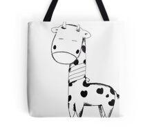 Injured Giraffe Tote Bag