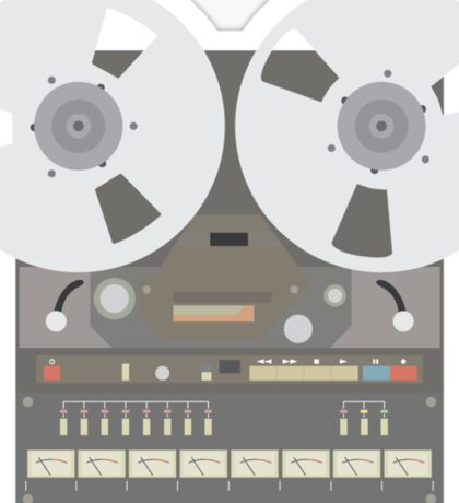 Reel to Reel  Sticker