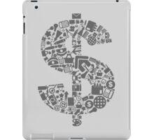 Office dollar iPad Case/Skin