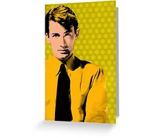Gregory Peck Hollywood Icon Greeting Card