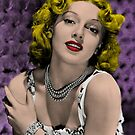 Hollywood Bombshell Lana Turner by Jeff East
