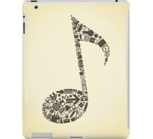 Office the note iPad Case/Skin