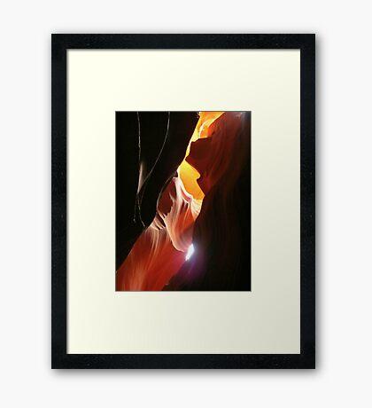 Desert Sand Design One Framed Print