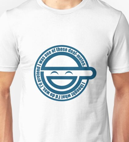 Laughing man Unisex T-Shirt