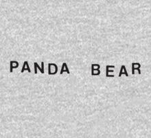 Panda Bear Logo by arkaffect