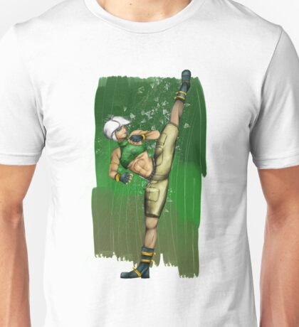 Street Soldier High Kick Unisex T-Shirt