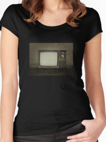 Vintage Television Women's Fitted Scoop T-Shirt