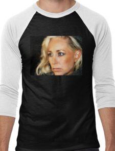 Blond Woman Men's Baseball ¾ T-Shirt