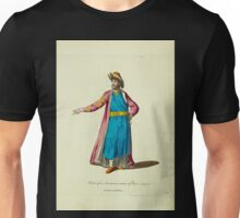 Habit of an Armenian native of Persia in 1700 Armenian natif de Perse 315 Unisex T-Shirt