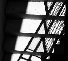 Shadowed Stairway by Nathan Little