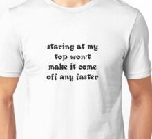 Staring Unisex T-Shirt