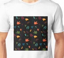Floral pattern in bright colors Unisex T-Shirt