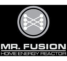 Back to the Future Mr. Fusion logo Photographic Print