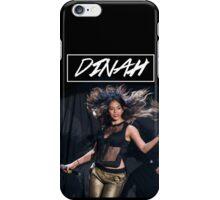 Dinah Singing. iPhone Case/Skin
