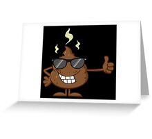 Poop Greeting Card