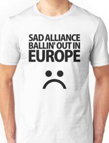 SAD▲ALLIANCE Black Unisex T-Shirt