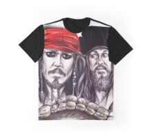 Pirates and the Kraken Graphic T-Shirt