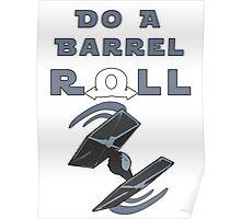 Barrel Roll Tie Poster