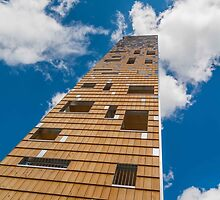 Tower in the clouds by Mark Bangert