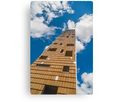 Tower in the clouds Canvas Print